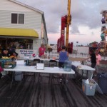 The Atlantic Club Walk/Run for Recovery Booth at the OCMD Inlet