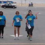 Atlantic Club volunteers on their way to the Walk/Run for Recovery event