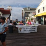 The Atlantic Club's Walk/Run for Recovery Booth in OCMD