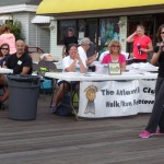 The Walk/Run for Recovery Booth