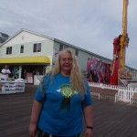 Participant of the Walk/Run for Recovery in Ocean City