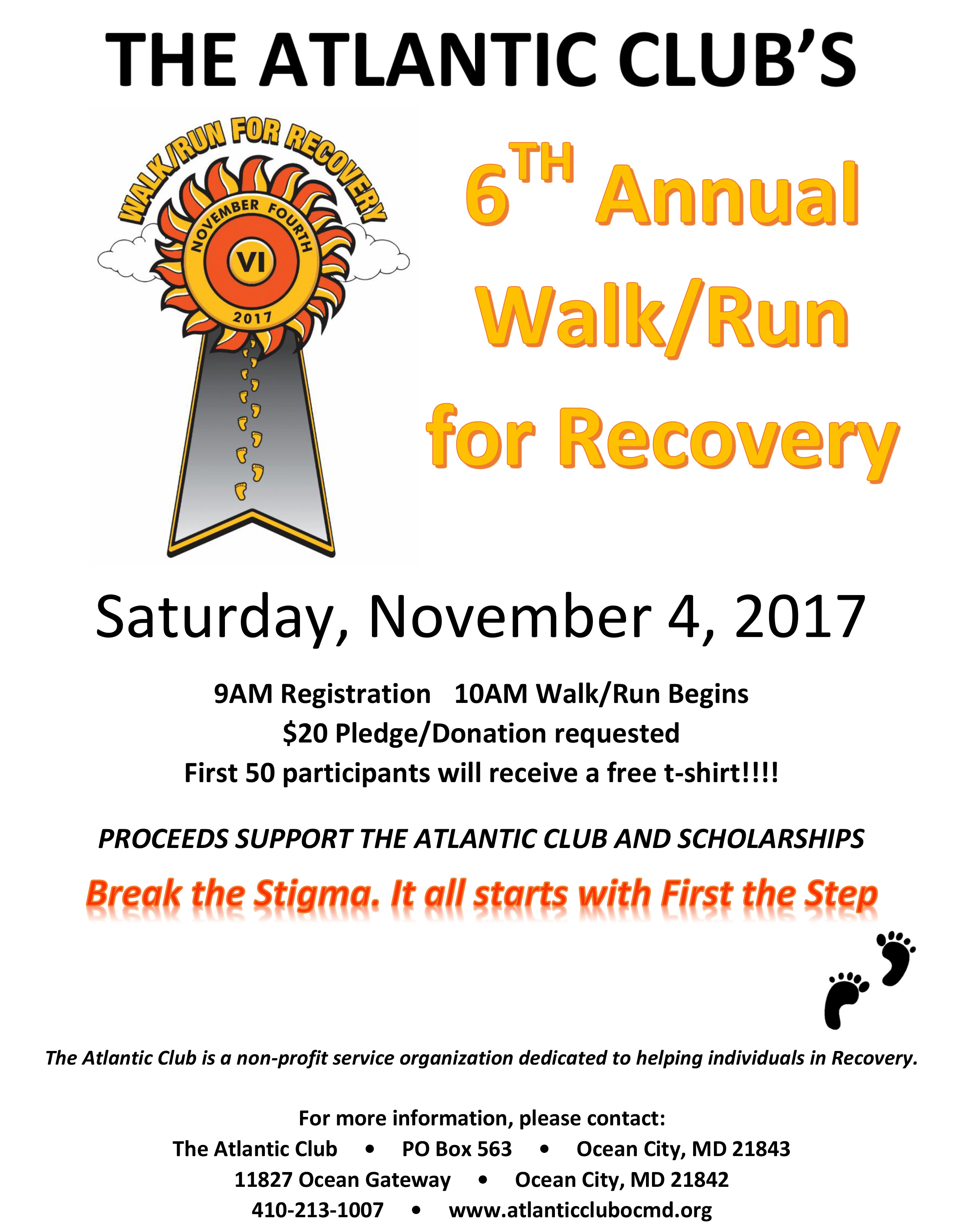 6th Annual Walk-Run Flyer